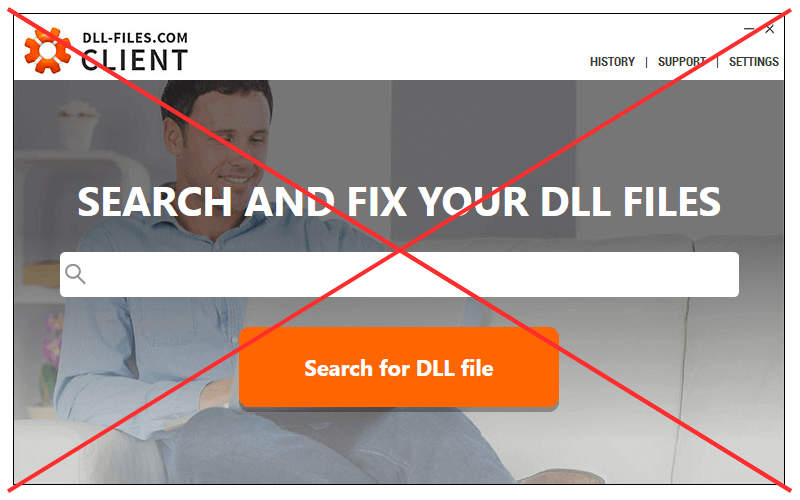 DLL-Files Client discontinued