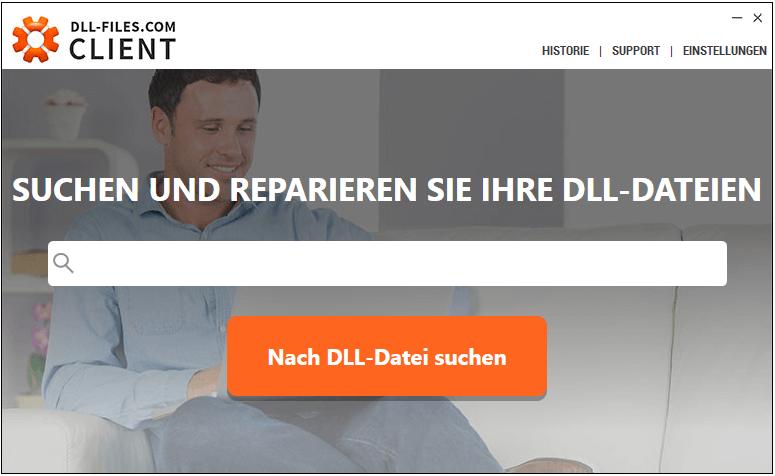 DLL-Fehler beheben mit DLL-Files-com Client