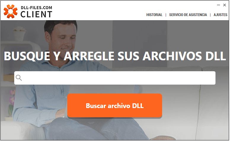 Busca archivos dll con DLL-Files-com Client