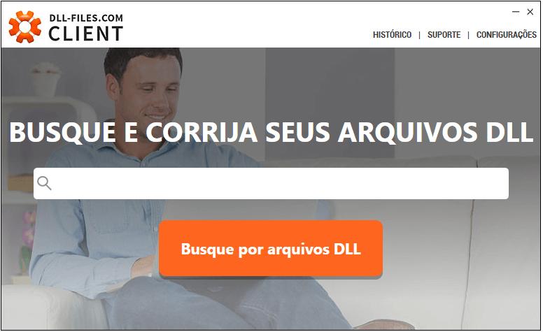 Corrija erros de dll com DLL-Files-com Client