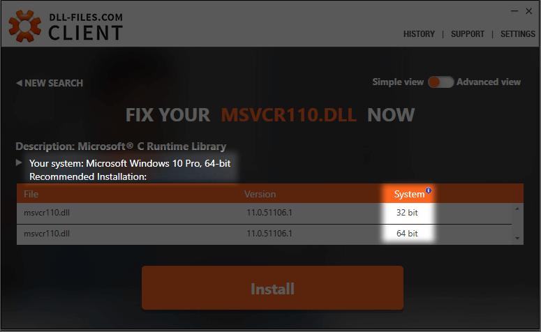 DLL-Files-com Client ile hem 32-bit hem de 64-bit dll dosyalarını yükleyin